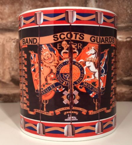 Band of the Scots Guards Drum Mug